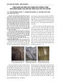 Ứng dụng hệ sơn polyurea để chống thấm khe biến dạng của đập bê tông sau khi tích nước