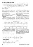 Phân tích giới hạn hội tụ và lý giải nguyên nhân việc không hội tụ của phương pháp Newton khi áp dụng tính toán cho mô hình thép tinh thể