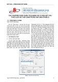Các phương pháp phân tích động phi tuyến kết cấu theo lịch sử thời gian trong SAP 2000 (Phần 2)