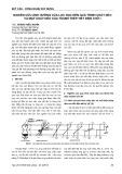 Nghiên cứu ảnh hưởng của lực dọc đến quá trình chảy dẻo và mặt chảy dẻo của thanh thép tiết diện chữ I