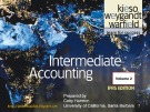 Lecture Intermediate accounting (Volume 1, IFRS edition): Chapter 22 - Kieso, Weygandt, Warfield