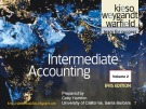 Lecture Intermediate accounting (Volume 1, IFRS edition): Chapter 21 - Kieso, Weygandt, Warfield