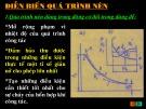 Bài giảng Nguyên lý động cơ đốt trong - Chương 4: Diễn biến quá trình nén