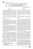 Vai trò của tín ngưỡng dân gian trong đời sống của ngư dân đảo Phú Quốc