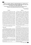 Những tác động chính của Hiệp định đối tác Thương mại xuyên Thái Bình Dương đến doanh nghiệp dệt may Việt Nam xuất khẩu sang thị trường Mỹ