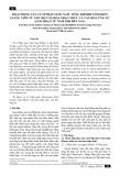 Hoạt động của tu sĩ Phật giáo Nam Tông Khmer tỉnh Kiên Giang nhìn từ góc độ văn hóa nhận thức và văn hóa ứng xử (giai đoạn từ năm 1986 đến nay)