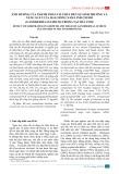 Ảnh hưởng của thành phần cơ chất đến sự sinh trưởng và năng suất của hai giống nấm linh chi đỏ (ganoderma lucidum) trồng tại Trà Vinh