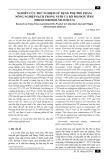 Nghiên cứu thử nghiệm sử dụng phụ phế phẩm nông nghiệp sạch trong nuôi cá rô phi đơn tính (oreochromis niloticus)