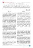 Phân tích các yếu tố ảnh hưởng đến khả năng tiếp cận tín dụng chính thức của nông hộ nuôi tôm thẻ chân trắng tại huyện Duyên Hải, tỉnh Trà Vinh