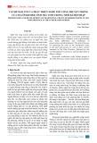 Vấn đề bảo tồn và phát triển nghề thủ công truyền thống của người Khmer tỉnh Trà Vinh trong thời kì hội nhập