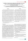 Nghiên cứu thành phần bệnh hại chính trên cây cao su (heave brasiliensis) ở thời kỳ khai thác lấy mủ tại tỉnh Quảng Bình