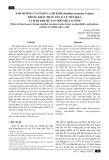 Ảnh hưởng của ngọn lá mì khô (manihot esculenta crantz) trong khẩu phần lên tỉ lệ tiêu hóa và sinh khí mê tan trên bò lai Sind