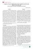 Nghiên cứu quy trình trồng thử nghiệm nấm chân dài trên cơ chất bã mía