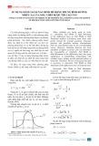 Sử dụng hàm Gauss xác định bề rộng trung bình đường nhiễu xạ của mẫu thép được tôi cao tần