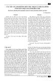 Các yếu tố ảnh hưởng đến thu nhập của hộ gia đình ở huyện Chợ Lách tỉnh Bến Tre