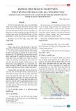 Đánh giá thực trạng và nguyên nhân xói lở bờ sông Tiền đoạn chảy qua tỉnh Đồng Tháp