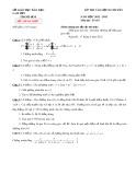 Đề thi vào lớp 10 chuyên Lam Sơn năm học 2012-2013 môn Toán - Sở GDĐT Thanh Hóa