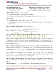 Đề thi thử THPT Quốc gia lần 3 môn Toán năm 2015-2016 - Trường THPT Phước Bình