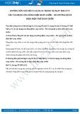 Hướng dẫn giải bài C4 trang 97 SGK Vật lý 9