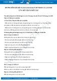 Hướng dẫn giải bài C5,C6,C7,C8 trang 132 SGK Vật lý 9