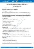 Giải bài tập Tôn sư trọng đạo SGK GDCD 7