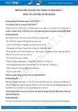 Giải bài tập Sống và làm việc có kế hoạch SGK GDCD 7