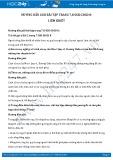 Giải bài tập Liêm khiết SGK GDCD 8