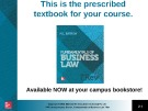 Lecture Fundamentals of business law (7/e): Chapter 5 - M.L Barron