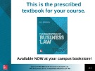 Lecture Fundamentals of business law (7/e): Chapter 21 - M.L Barron