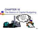 Lecture Fundamentals of financial management - Chapter 10: The basics of capital budgeting