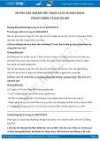 Giải bài tập Phòng, chống tệ nạn xã hội SGK GDCD 8