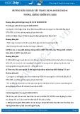 Giải bài tập Phòng, chống nhiễm HIV/AIDS SGK GDCD 8