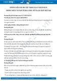 Giải bài tập Phòng ngừa tai nạn vũ khí, cháy, nổ và các chất độc hại SGK GDCD 8