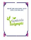 Bộ đề thi Violympic Toán lớp 6 năm 2016-2017