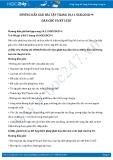 Hướng dẫn giải bài 1,2,3,4 trang 11 SGK GDCD 9