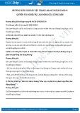 Hướng dẫn giải bài 1,2,3,4 trang 50 SGK GDCD 9