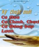 Ebook Kỹ thuật nuôi cá quả, cá chình, chạch, cá bống bớp, lươn: Phần 2