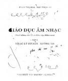 Ebook Giáo dục âm nhạc (Tập 1 - Nhạc lý cơ bản xướng âm): Phần 1