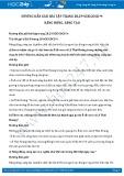 Giải bài tập Năng động, sáng tạo SGK GDCD 9