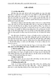 Tiểu luận chuyên đề tiền lương tiền công: Cải tiến chính sách tiền lương tại Công ty cổ phần cơ khí An Giang