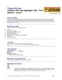 Thông số kĩ thuật của Jotafloor Non Slip Aggregate