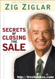 Ebook Secrets of Closing the Sale by Zig Ziglar