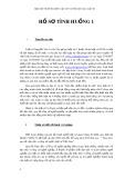 Đạo đức nghề nghiệp luật sư và ứng xử của luật sư - Hồ sơ tình huống 1