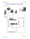 Truyền thông Profibus PLC S7300 với MM440
