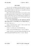 Đồ án tốt nghiệp: Tính toán tổn thất điện năng và đề xuất biện pháp giảm tổn thất  áp dụng cho lộ 971-7 chi nhánh điện Văn Lâm -  Điện lực Hưng Yên