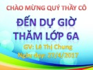 Bài giảng Tiếng Anh lớp 6: Review About The Angles