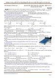 Đề thi thử THPT Quốc gia môn Vật lý năm học 2016 - Mã đề 209