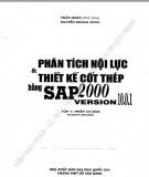 phân tích nội lực và thiết kế cốt thép bằng sap 2000 version 10.0.1 (tập 1 - phần cơ bản): phần 2