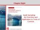 Lecture Auditing and assurance services (Second international edition) - Chapter 8: Audit sampling: An overview and application to tests of controls