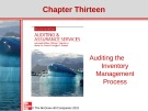 Lecture Auditing and assurance services (Second international edition) - Chapter 13: Auditing the inventory management process